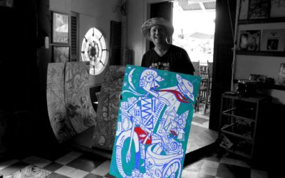 KAMA, KRWF, & the Cambodian Space Project – How Julien Poulson Energizes Rock 'n' Roll & the Arts