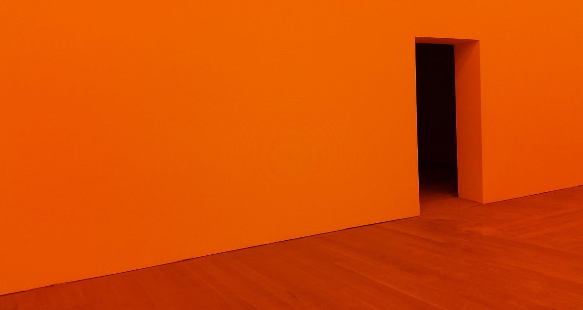 The Orange Silk Dress by Sithis Yim Samnang